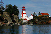 Roger Crowley / CrowleyPhotos.com <br /> <br /> Lighthouse on Campobello Island New Brunswick, Canada