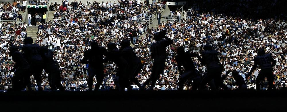 The Philadelphia Eagles vs. the Dallas Cowboys Sunday October 9, 2005..