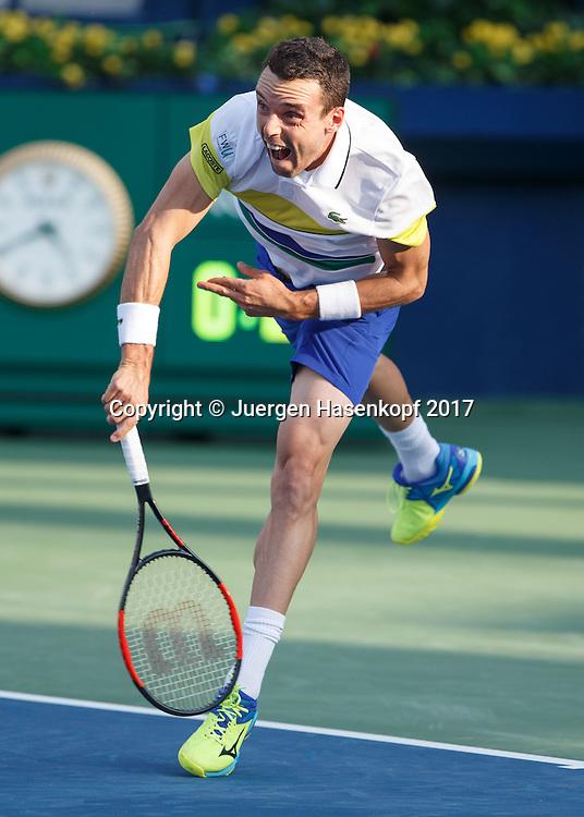 ROBERTO BAUTISTA AGUT (ESP)<br /> <br /> Tennis - Dubai Duty Free Tennis Championships - ATP -  Dubai Duty Free Tennis Stadium - Dubai -  - United Arab Emirates  - 27 February 2017. <br /> &copy; Juergen Hasenkopf