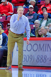 NORMAL, IL - November 03: Grey Gionanine during a college basketball game between the ISU Redbirds  and the Augustana Vikings on November 03 2018 at Redbird Arena in Normal, IL. (Photo by Alan Look)