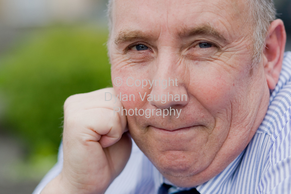 20/8/2008.Pat Feehan who has been refused a new hearing aid by HSE south east pictured at his home in Newpark Close in Kilkenny.Picture Dylan Vaughan.