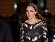 Catherine, Duchess of Cambridge attends the Action on Addiction autumn Gala evening at L'Anima in London