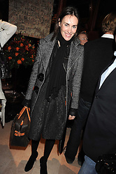 LAETITIA CASH at a party to celebrate the 10th birthday issue of Spears Wealth Management Survey held at Molton House, South Molton Street, London on 25th November 2008.