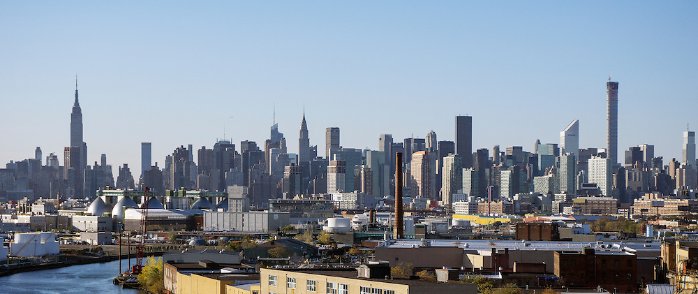 Midtown Manhattan. View from East.