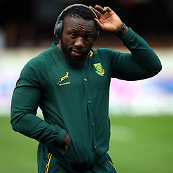 DURBAN, SOUTH AFRICA - AUGUST 18: Tendai (Beast) Mtawarira of South Africa during the Rugby Championship match between South Africa and Argentina at Jonsson Kings Park on August 18, 2018 in Durban, South Africa. (Photo by Steve Haag/Gallo Images)