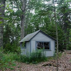 Cabin, Upper Negro Island, Castine, Maine, US
