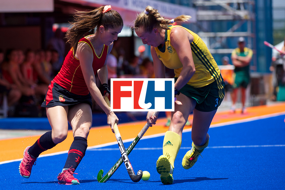 RIO 2016 Olympic qualification, Hockey, Women, match for 5th/8th place, South Africa vs Spain :  Celia Evans
