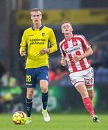 Anton Skipper (Brøndby IF) under kampen i 3F Superligaen mellem Brøndby IF og AaB den 18. august 2019 på Brøndby Stadion (Foto: Claus Birch).