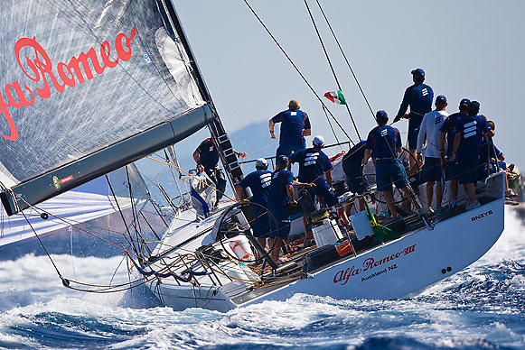 08_019407 © Sander van der Borch. Porto Cervo,  2 September 2008. Maxi Yacht Rolex Cup 2008  (1/ 6 September 2008). Day 1.