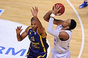 BRINDISI 02 DICEMBRE2014<br /> BASKET EUROCUP<br /> Enel Brindisi Gran Canaria<br /> NELLA FOTO Kenneth Kadji<br /> FOTO CIAMILLO