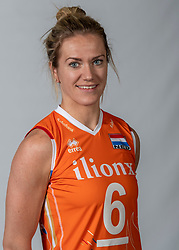 10-05-2018 NED: Team shoot Dutch volleyball team women, Arnhem<br /> Maret Balkestein-Grothues #6 of Netherlands