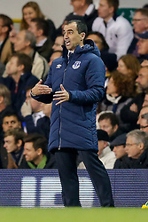 Everton Manager Roberto Martinez gestures - Photo mandatory by-line: Rogan Thomson/JMP - 07966 386802 - 30/11/2014 - SPORT - FOOTBALL - London, England - White Hart Lane - Tottenham Hotspur v Everton - Barclays Premier League.