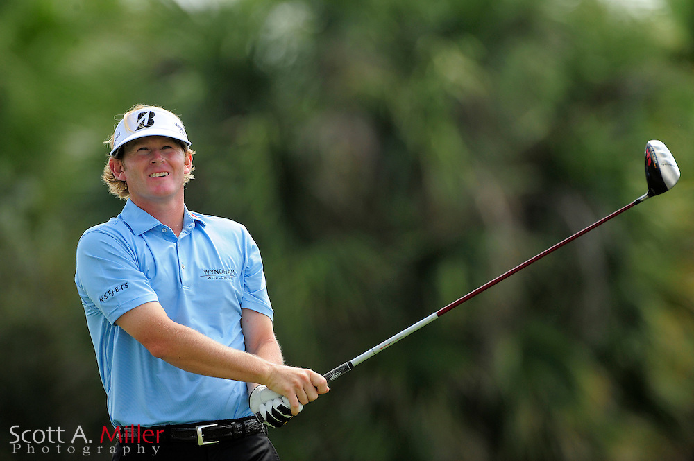 Brandt Snedeker during the final round of the World Golf Championship Cadillac Championship on the TPC Blue Monster Course at Doral Golf Resort And Spa on March 11, 2012 in Doral, Fla. ..©2012 Scott A. Miller.