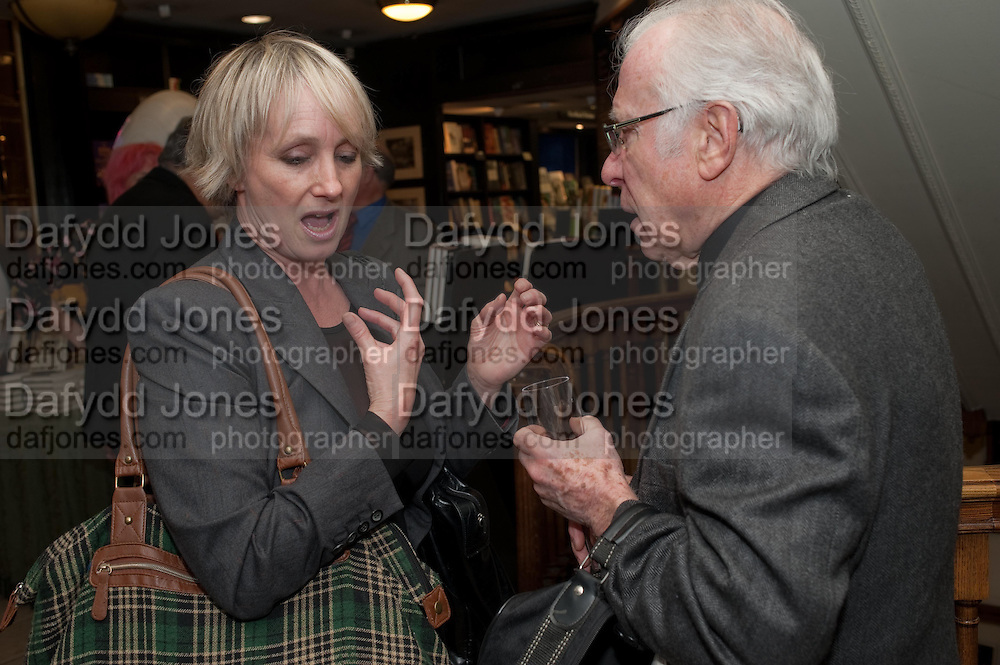 LESLIE WALTERS; JEAN REYNAUD, Relish: My Life on a Plate by Prue Leith. Hatchards. Piccadilly, London. 14 March 2012.