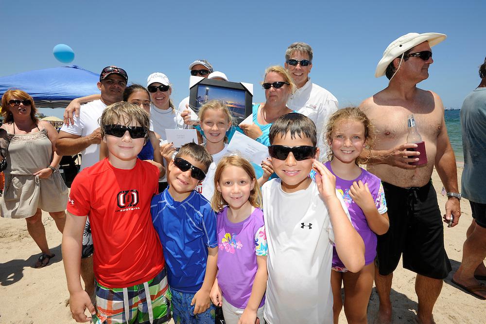 Great American Beach party 2012 sandcastle winners