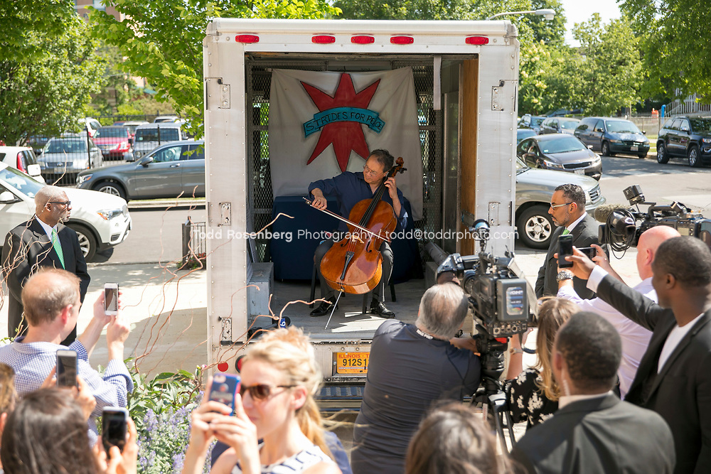 6/11/17 2:41:42 PM --  Chicago, IL<br /> The Negaunee Music Institute at the Chicago Symphony Orchestra <br /> <br /> Yo-Yo Ma Presents a Concert for Peace <br /> Presented in partnership with St. Sabina Church<br /> <br />  &copy;&nbsp;Todd Rosenberg Photography 2017