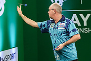 Ian White during the PDC Darts Players Championship at  at Butlins Minehead, Minehead, United Kingdom on 24 November 2017. Photo by Shane Healey.
