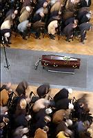 Fotball<br /> Trenerlegenden Raymond Goethals begravelse i Brussel<br /> 13. desember 2004<br /> Foto: Digitalsport<br /> NORWAY ONLY