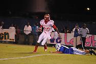 Lafayette High's Jeremiah Jones (26) runs vs. Senatobia High in Senatobia, Miss. on Friday, October 21, 2011. Lafayette High won.