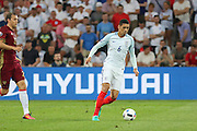 England Defender Chris Smalling during the Group B Euro 2016 match between England and Russia at Stade Velodrome, Marseille, France on 11 June 2016. Photo by Phil Duncan.