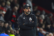 Huddersfield Town manager David Wagner during the Premier League match between Bournemouth and Huddersfield Town at the Vitality Stadium, Bournemouth, England on 4 December 2018.