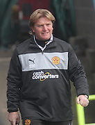 Motherwell manager Stuart McCall - Dundee v Motherwell in the Clydesdale Bank Scottish Premier League at Dens Park.. - © David Young - www.davidyoungphoto.co.uk - email: davidyoungphoto@gmail.com