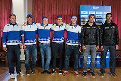 Freestyle team during Media day of Ski Association of Slovenia before new winter season 2014/15 on October 20, 2014 in Hisa Kulinarike Jezersek, Sora, Slovenia. (Photo by Matic Klansek Velej / Sportida)