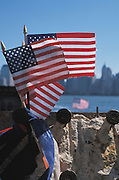 Small flags after 9/11