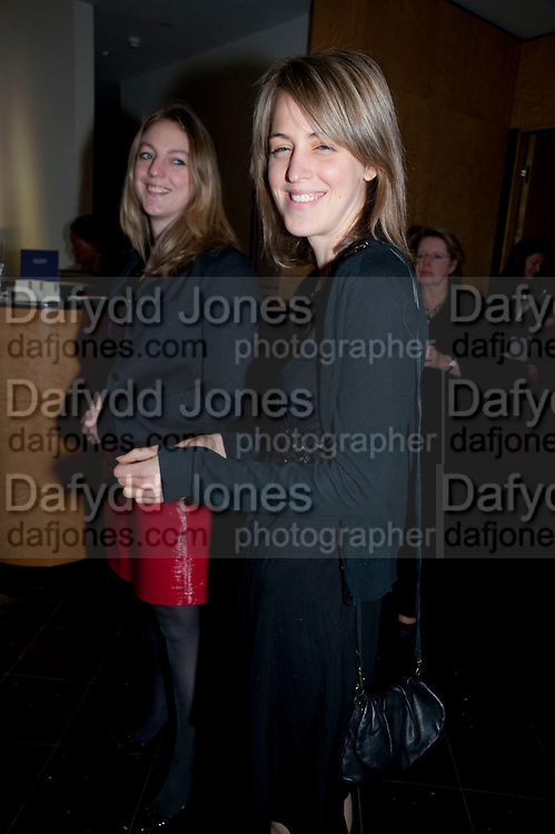 TANYA VON PREUSSEN; LISA WALDEGRAVE, Literary charity First Story fundraising dinner. Cafe Anglais. London. 10 May 2010. *** Local Caption *** -DO NOT ARCHIVE-© Copyright Photograph by Dafydd Jones. 248 Clapham Rd. London SW9 0PZ. Tel 0207 820 0771. www.dafjones.com.<br /> TANYA VON PREUSSEN; LISA WALDEGRAVE, Literary charity First Story fundraising dinner. Cafe Anglais. London. 10 May 2010.