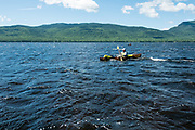 Paddling and camping on Flagstaff Lake, Maine with Dave Shively, Zand Martin, David Jackson and Aaron Black-Schmidt.