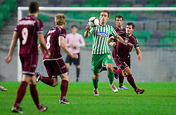 Nikola Nikezic #18 of Olimpija during football match between NK Olimpija Ljubljana and NK Triglav in 18th Round of PrvaLiga NZS 2012/13  on November 10, 2012 in SRC Stozice, Ljubljana, Slovenia. Real Madrid defeated Union Olimpija 89-76. (Photo By Vid Ponikvar / Sportida)