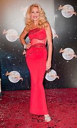 Jerry Hall fellow Contestants as they line up for this years Strictly Come Dancing television show on BBC. Contestants will include Olympic medalist Victoria Pendleton, Tuesday September 11, 2012.Photo Andrew Parsons/i-Images