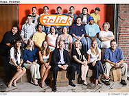 Group photo of iClick employees done at Seattle location.