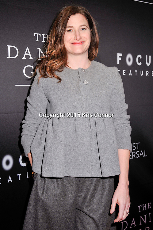 "Kathryn Hahn, actress, Transparent, attends the DC premiere of Focus Features' ""THE DANISH GIRL"" at the United States Navy Memorial in Washington DC on November 23, 2015.  (Photo by Kris Connor for Focus Features)"