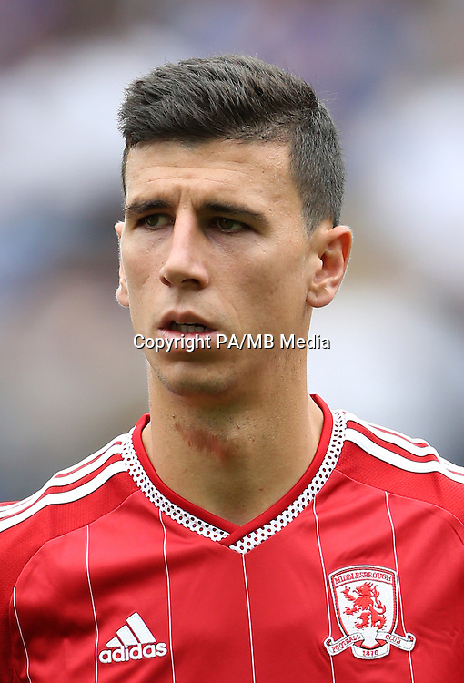 Middlesbrough's Daniel Ayala