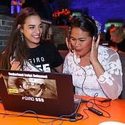 NLD/Hilversum/20181010 - Giro 555 actiedag voor Sulawesi, Rahima Dirkse, Miss Nederland 2018