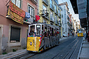 Trams in Lisbon are common ways of getting around the city for locals and tourists.