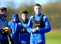 New signing Tony Craig takes part in his first training session after signing for Bristol Rovers - Mandatory by-line: Robbie Stephenson/JMP - 01/02/2018 - FOOTBALL - The Lawns Training Ground - Bristol, England - Bristol Rovers Training