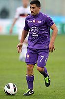 """David Pizarro (Fiorentina) .Firenze 17/03/2013 Stadio """"Artemio Franchi"""".Seria A 2012/2013.Football Calcio Fiorentina Vs Genoa.Foto Insidefoto Luca Pagliaricci"""
