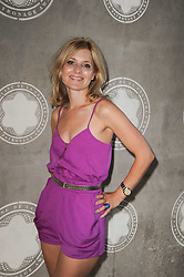 Actress ROSIE FELLNER at the Montblanc de la Culture Arts Patonage Award 2010 held at Floors 7-10, Multi-Storey Car Park, 95A Rye Lane, London SE15 on 30th June 2010.  The 2010 UK winners were Yana Peel & Candida Gertler.