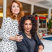 NLD/Amsterdam/20160321- Persdag Voor Elkaar Gemaakt, Sanne Vogel en Eva van de Wijdeven