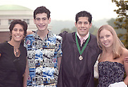 left to right:.Jen Cuenot(sister), Aaron Elman(cousin), Gregory Cuenot(graduate), Erin Von DerLieth(girlfriend)
