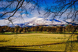 Tinto Hill in South Lanarkshire with a dusting of snow<br /> <br /> (c) Andrew Wilson   Edinburgh Elite media
