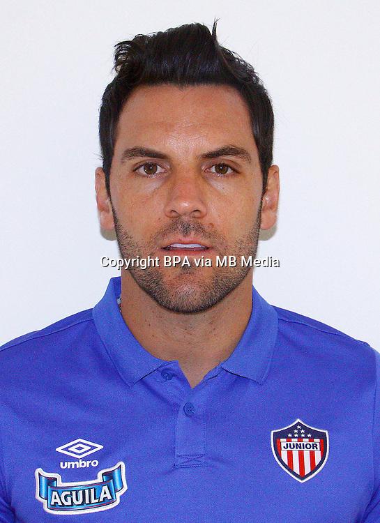 Colombia League - Liga Aguila 2015-2016 - <br /> Club Deportivo Junior de Barranquilla - Colombia / <br /> Diego Sebastian Viera Gala&iacute;n