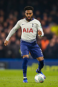 Tottenham Hotspur defender Danny Rose (3) on the ball during the EFL Cup semi final second leg match between Chelsea and Tottenham Hotspur at Stamford Bridge, London, England on 24 January 2019.