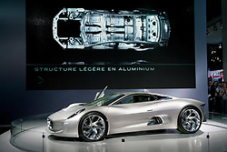 New Jaguar C-75 at Paris Motor Show 2010