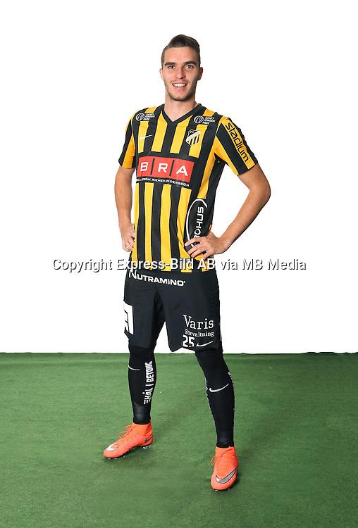 Egzon Binaku<br /> Helfigur<br /> @Leverans<br /> Allsvenskan 2016<br /> Fotboll