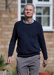 © Licensed to London News Pictures. 24/03/2019. Princes Risborough, UK.  Minister for the Cabinet Office, David Lidington, walks from his home to talk to reporters . There have been reports of a cabinet revolt against Prime Minister Theresa May, over her handing of the Brexit negotiations with some MPs suggesting Mr Lidington as a temporary prime minister. Photo credit: Peter Macdiarmid/LNP