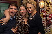 JAMES BLUNT; ALICE WILSON; SOFIA WELLESLEY, The launch of Beaver Lodge in Chelsea, a cabin bar and dance saloon, 266 Fulham Rd. London. 4 December 2014