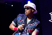 Ronnie Devoe of Bell Biv Devoe performs during the Summer Spirit Festival at Merriweather Post Pavilion in Columbia, Md on Sunday, August 6, 2017.